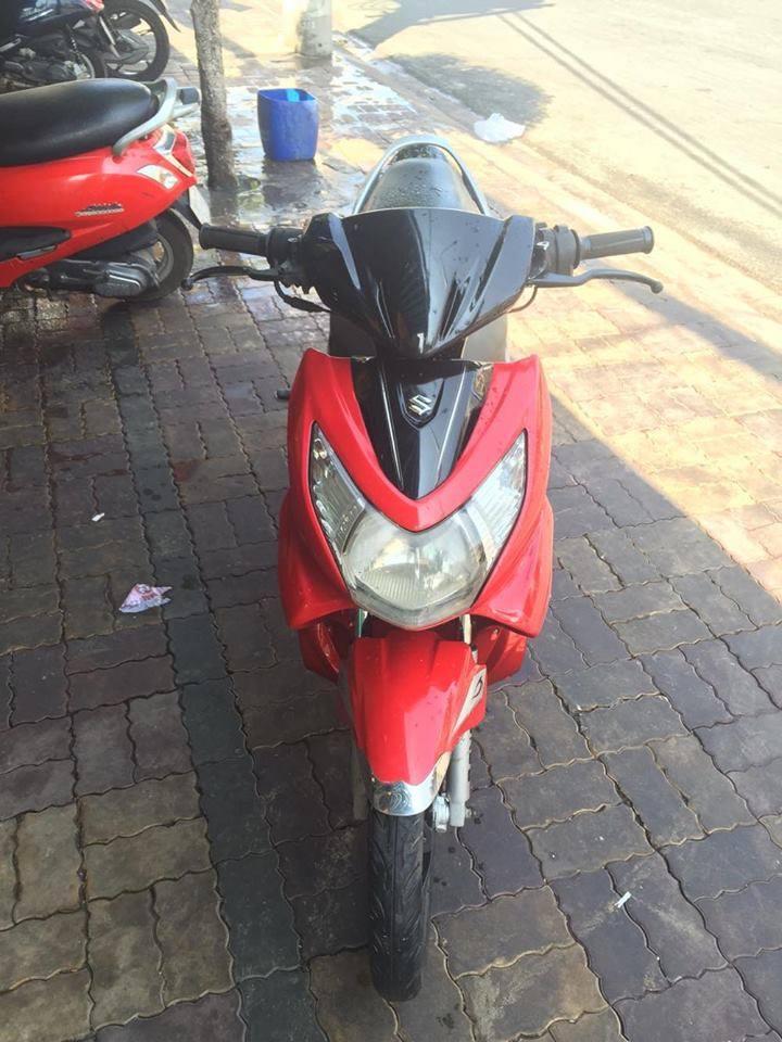 Suzuki Hayate 125cc 2007 đỏ đen bstp 2551