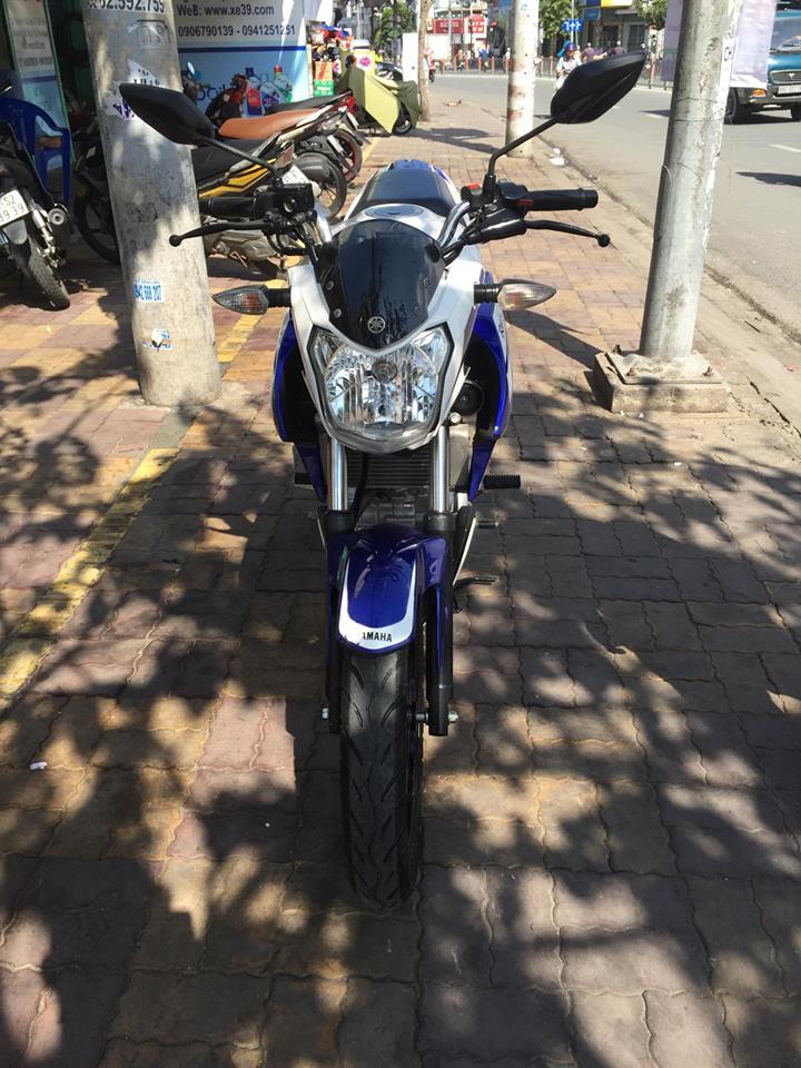 Yamaha FZ 150i  trắng xanh 2k14 bstp 865.85