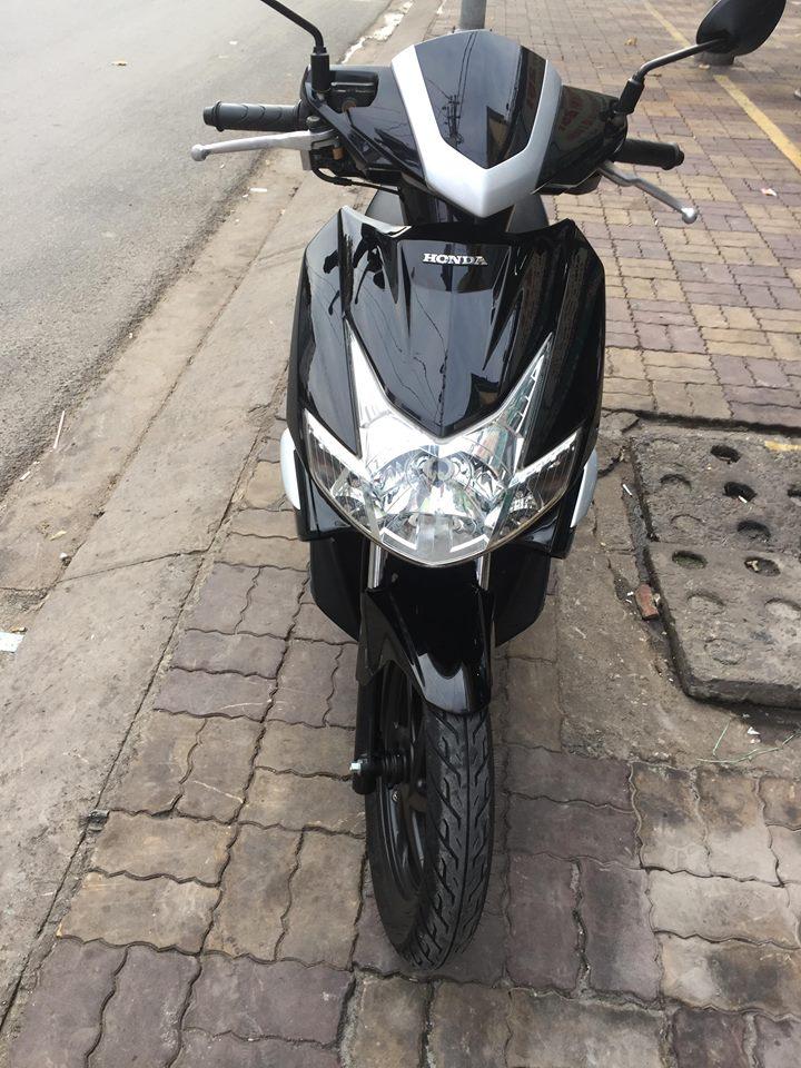 Honda Airblade Fi 110cc màu đen xe 1 đèn bstp 4437
