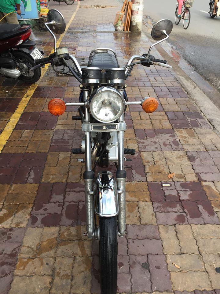 Suzuki GN 125cc xe bs tỉnh bao rút hồ sơ