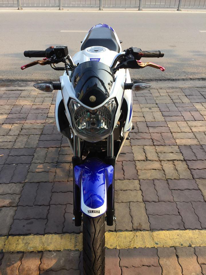 Yamaha FZ 150i  trắng xanh 2k15 bs đẹp 60 - 22220