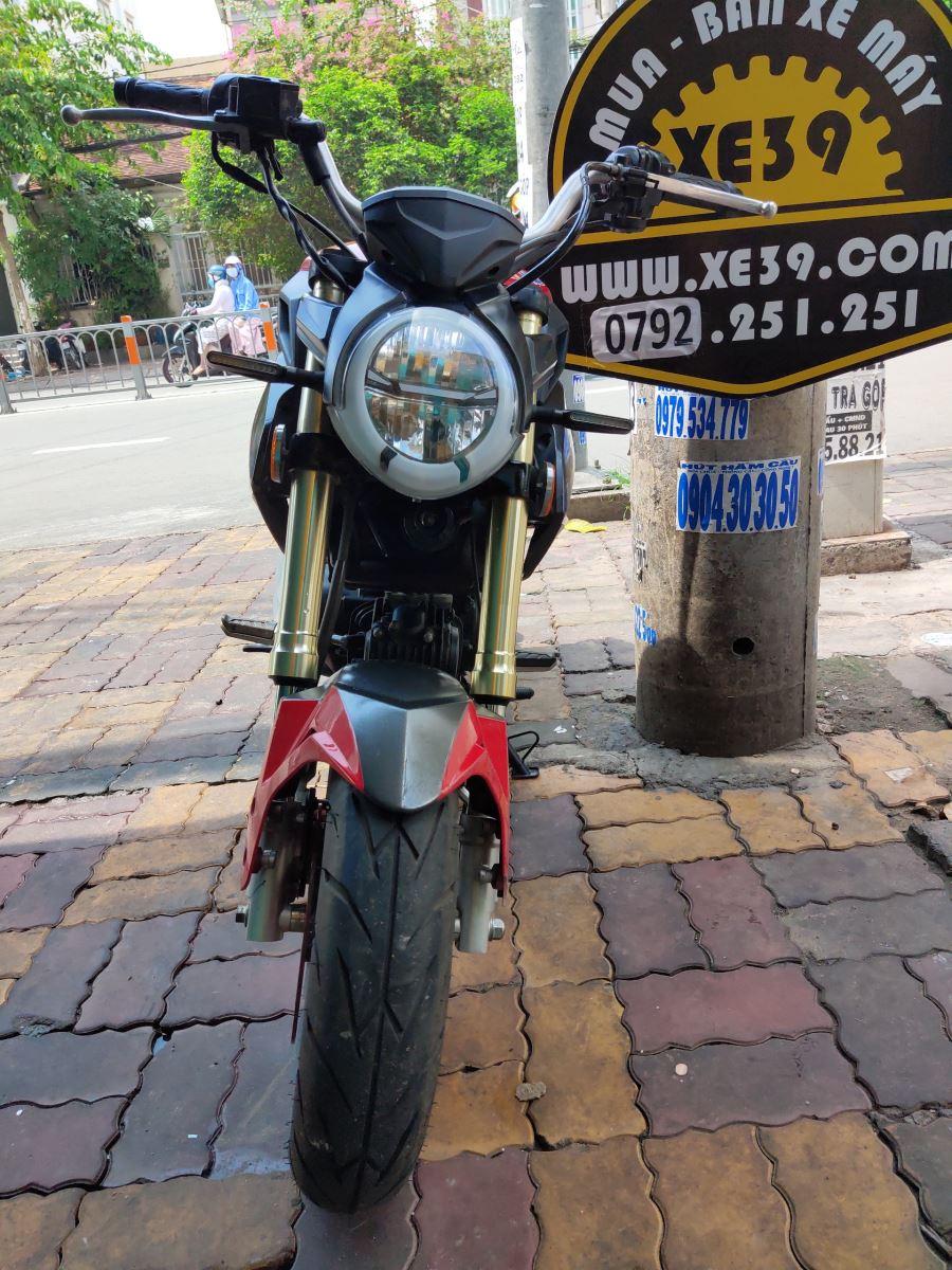 Mô tô con Ducati Mini Monster dòng U1 110cc 2019 bstp bán 19tr8