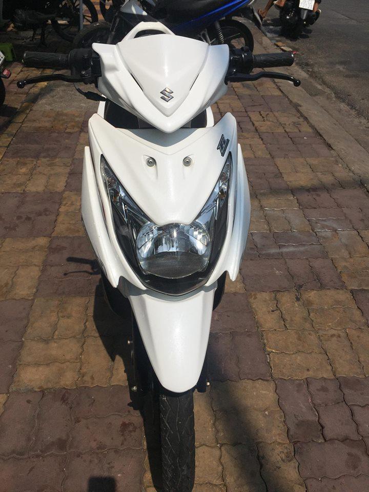 Suzuki Hayate ss 125cc Fi 2013 trắng đỏ bstp 9 chủ 47333 giá bán 11tr8