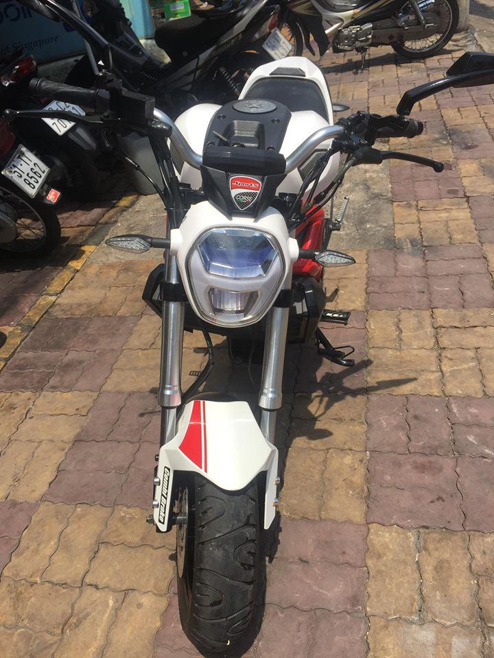 Mô tô con Ducati Mini Monster 110cc xe mới 100% mẫu mới 2019