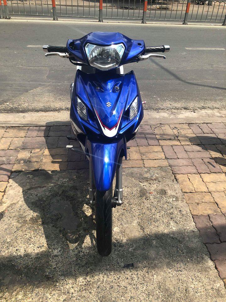 Suzuki Axelo côn tay 2014 xanh trắng bstp 9 chủ 521.93