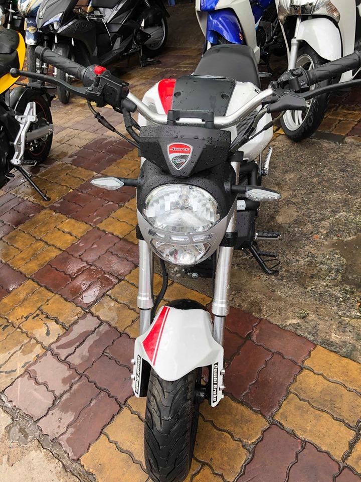 Ducati Mini Monster 110cc côn tay xe mới 100% bán 23tr5