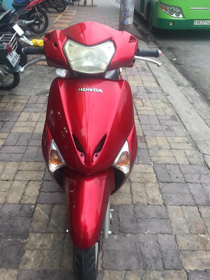 Honda SCR 110cc 2008 màu đỏ xe  bstp 248.36