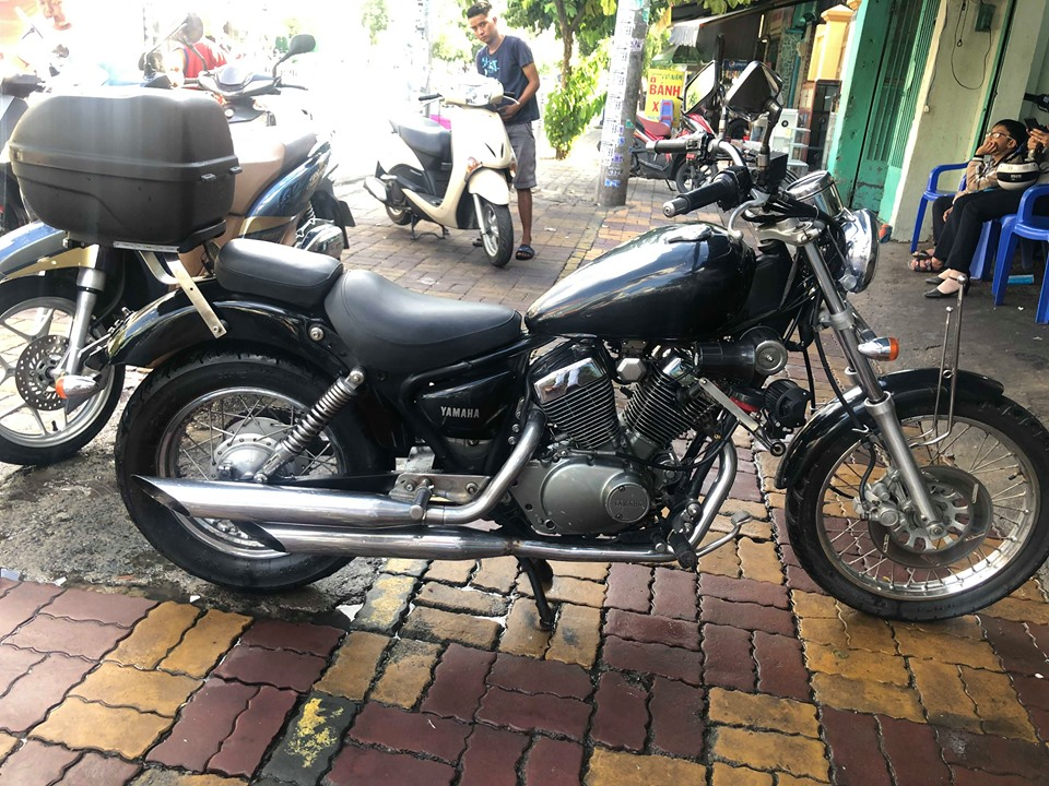 Yamaha Virago 125cc dòng cruise cổ điển zin 100%