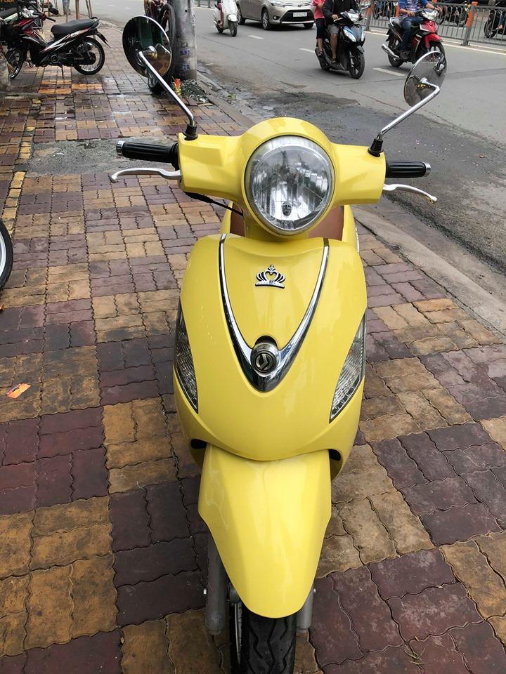 Sym Attila Elizabeth Fi 2010 màu vàng đẹp giá bán 12tr8