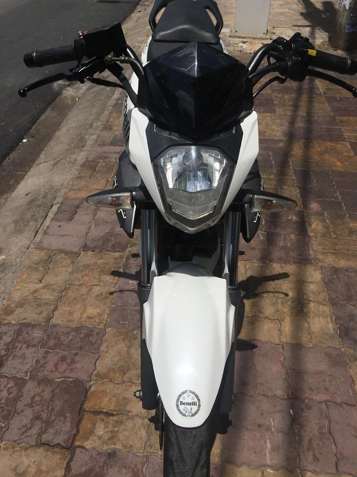 Benelli T15 150cc 2017 màu trắng bstp 813.25 giá bán 25tr