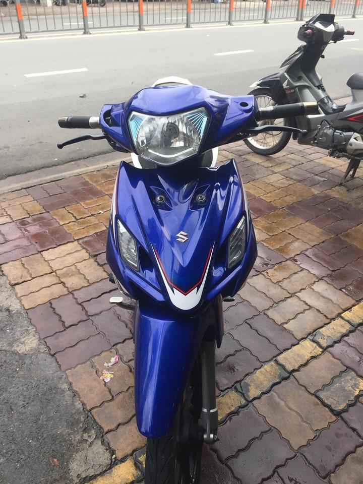 Suzuki Axelo côn tay 2013 xanh trắng bstp 9 chủ 28917