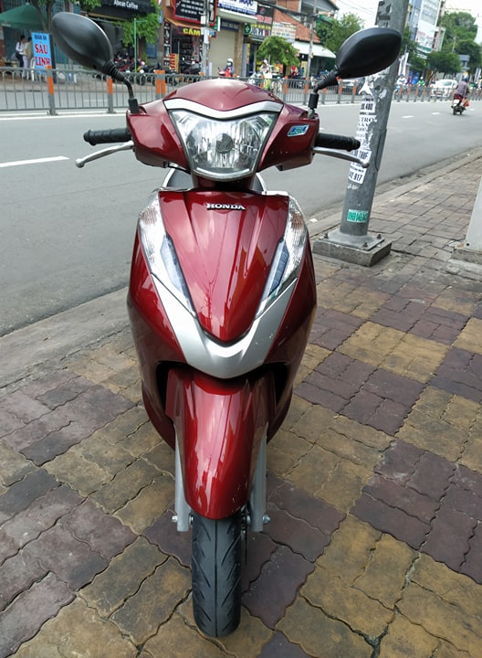 Honda Lead Fi 125cc 2013 màu đỏ bstp 730.25 giá bán 24tr8