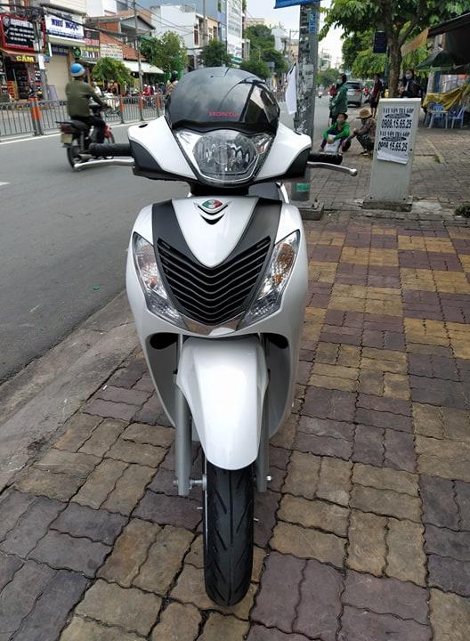 Honda SH 125cc 2012 lên dàn áo Ý xe màu trắng bstp 9 chủ giá bán 55tr8