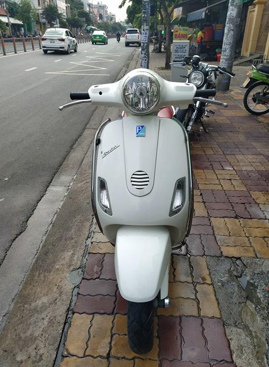 Piaggio Vespa Lx 125cc 2007 xe nhập ý  bstp 9 chủ giá bán 14tr5