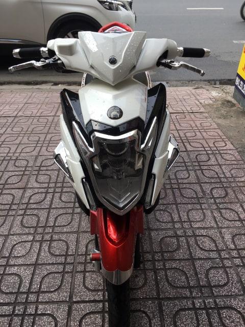 Yamaha Nouvo 6 125cc Fi 2014 trắng đỏ bstp 071.96 giá bán 17tr8