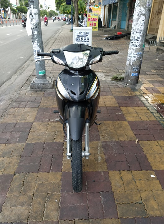 Honda Wave S 110cc 2008  màu đen  xe 9 chủ 380.91