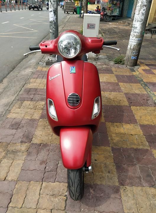 Piaggio Vespa Lx  125cc 2009 màu đỏ bstp giá bán 13tr8