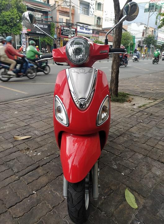 Sym Attila Elizabeth Venus 125cc 2015 màu đỏ bstp 308.22 giá bán 16tr5