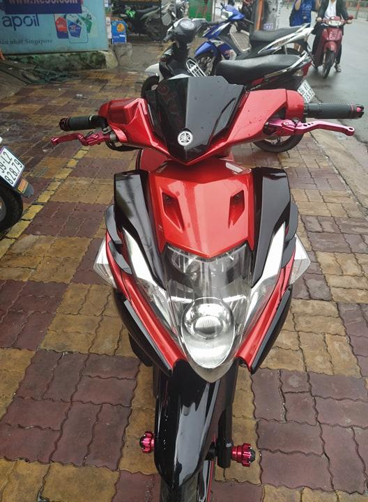 Nouvo 5 125cc 2012 đỏ đen , xe bstp 264.02  giá bán 14tr5