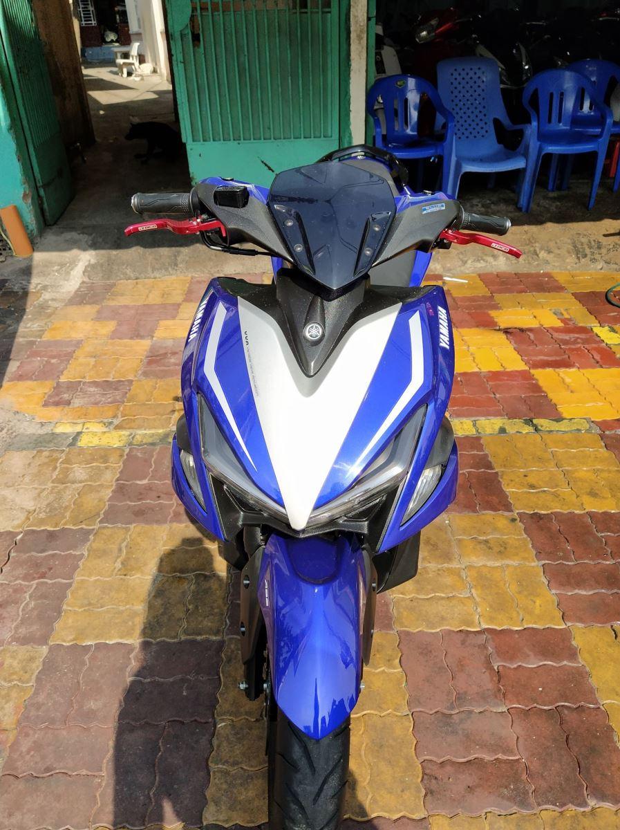 Yamaha NVX 155cc 2017 ABS smarkey  xe bstp 522.49 giá bán 35tr8