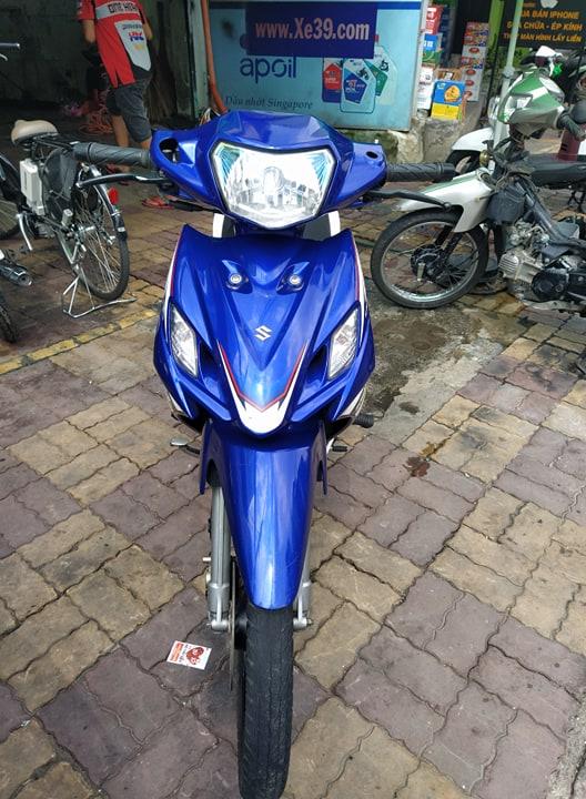 Suzuki Axelo côn tay 2013 xanh trắng bstp 829.87 giá bán 14tr7