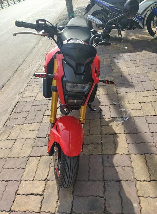 Honda MSX 125cc 2019  màu đỏ bs tỉnh 47 xe 9 chủ ủy quyền giá bán 37tr8