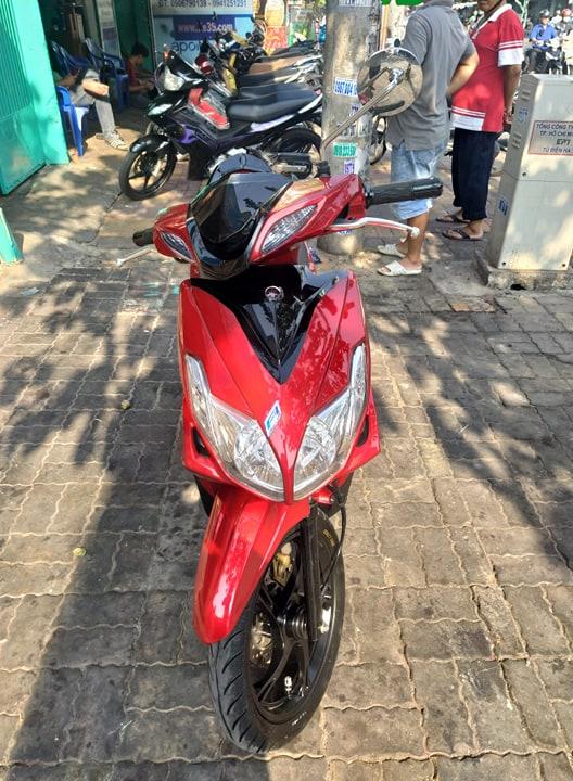 Yamaha Luvias 125cc 2015 Fi bstp 9 chủ 309.41 xe đẹp giá bán 18tr8