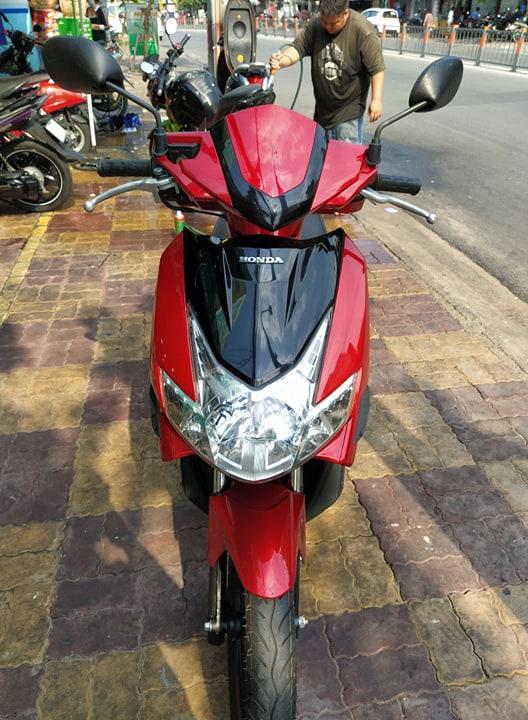 Honda Airblade 110cc 2009 đỏ đen bstp giá bán 14tr7