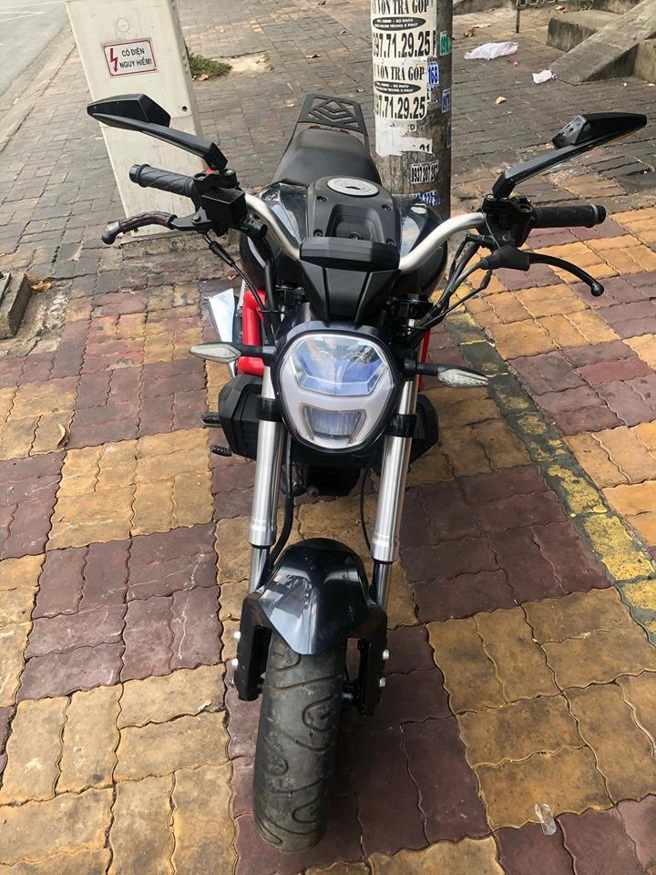 Mô tô con Ducati Mini Monster 110cc 2018  đen bstp 9 chủ 011.98 bán 17tr5