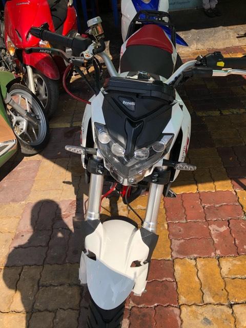 Benelli TNT 125 2018 xe tây côn mini thể thao bs tỉnh 65 - giá bán 23tr8