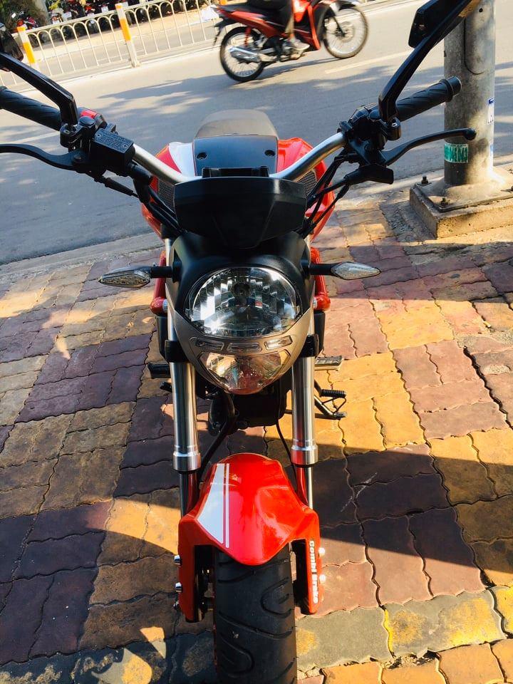 Mô tô con Ducati Mini Monster 110cc 2018 xe có hồ sơ gốc bán 18tr