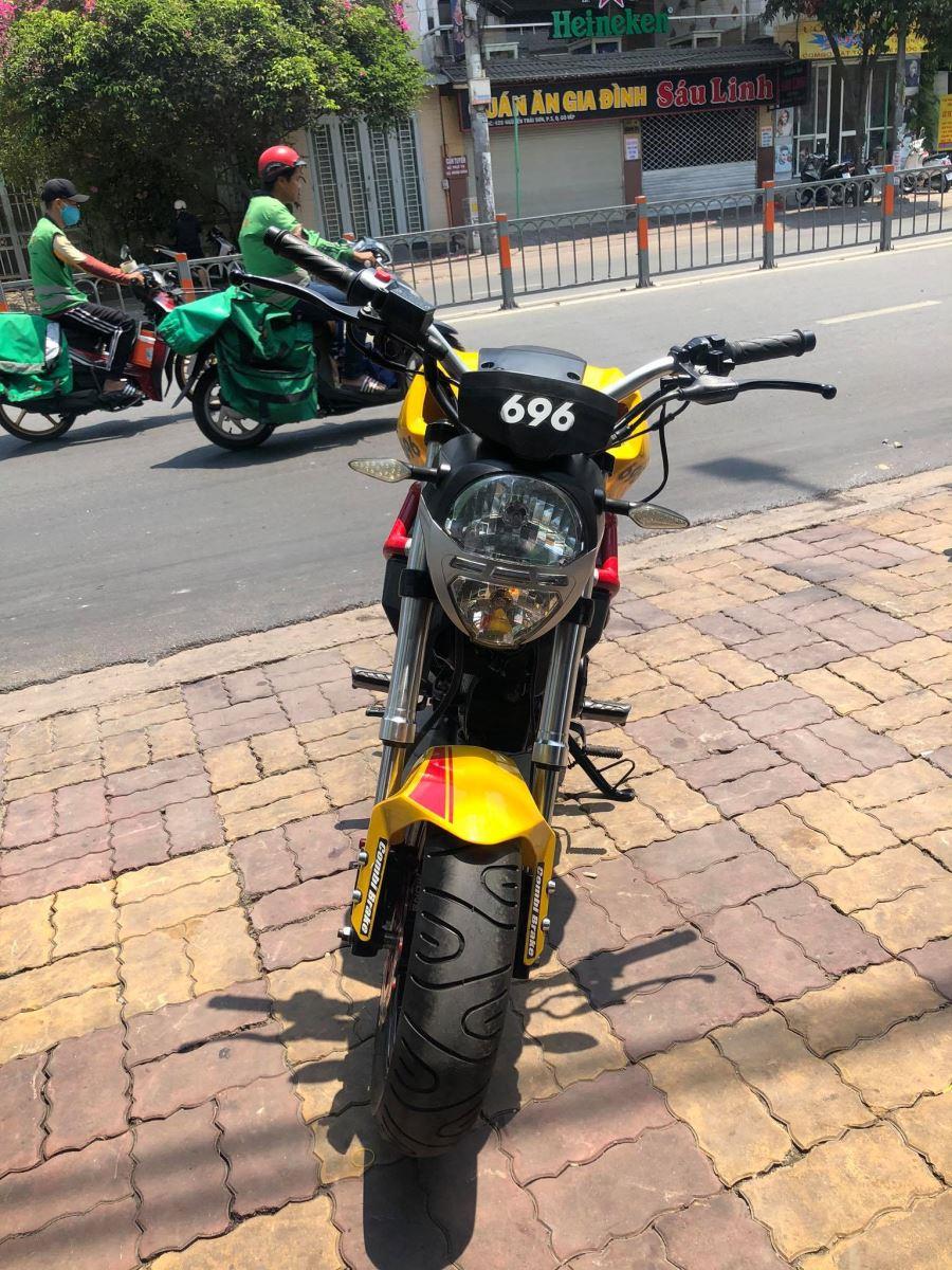 Ducati Mini Monster 110cc 2018 xe có hồ sơ gốc bán 18tr