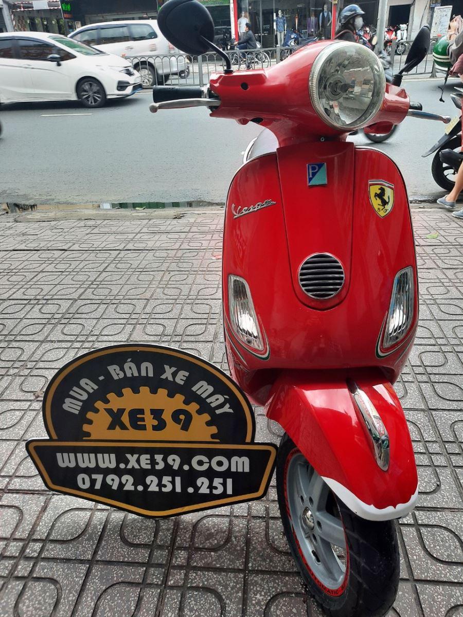 Piaggio Vespa 125ie 2011 màu đỏ bstp giá rẽ 17tr9