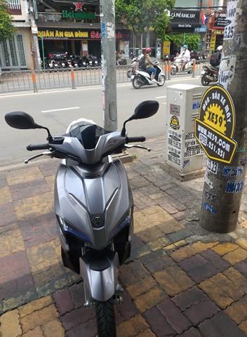 Honda Air Balde 125cc Fi  2018 khóa smartkey bstp 233.05 xe đẹp odo đúng km bán 34tr5