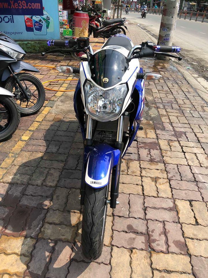 Yamaha Fz 150 2015 bs 68 trắng xanh Gp bao rút hồ sơ