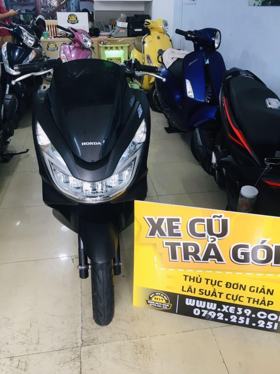 PCX 125cc Fi 2014 đen nhám xe 9 chủ bstp 112.71 bán 32tr