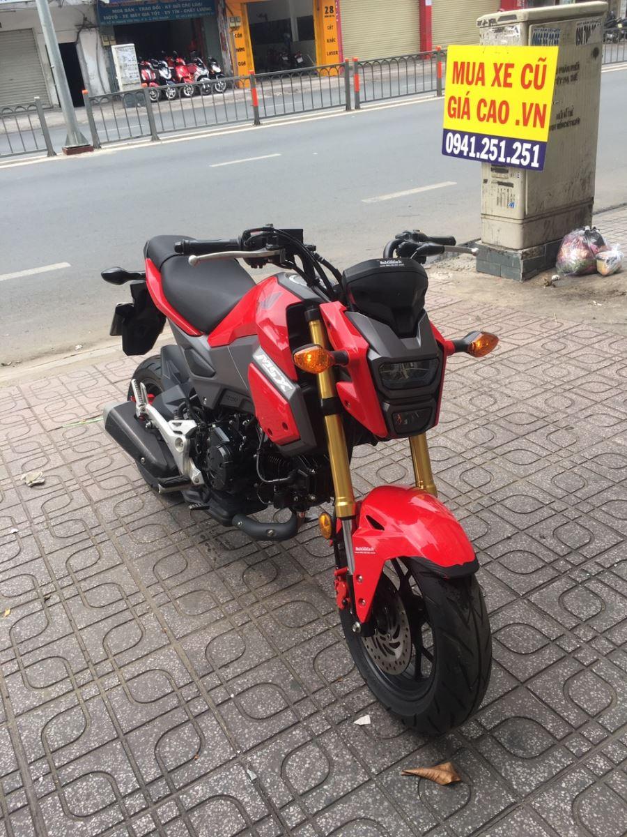 Honda MSX 125cc Fi 12/2017 đỏ đen 9 chủ 567.02 bán 41tr