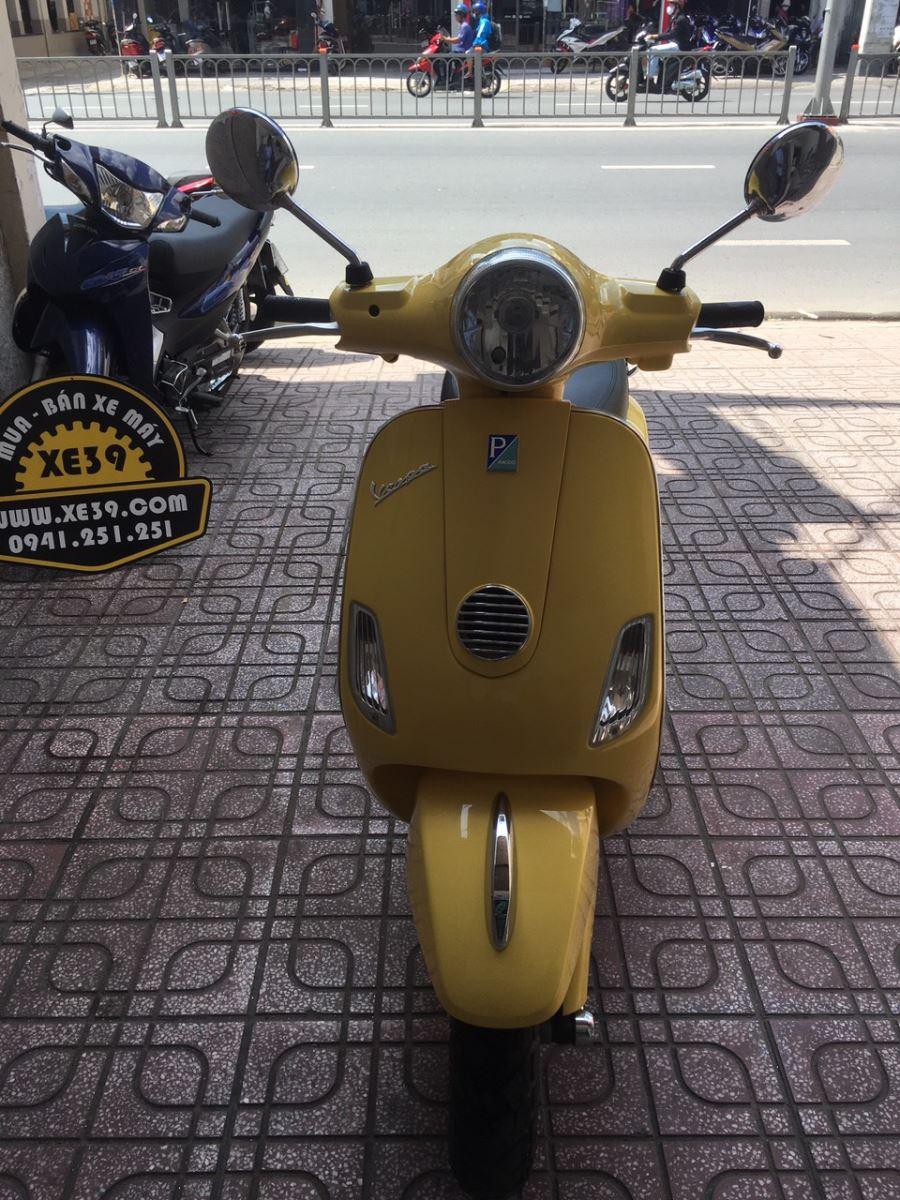 Piaggio Vespa  Fi 125cc 2012  xe bstp màu vàng đẹp bán 19tr