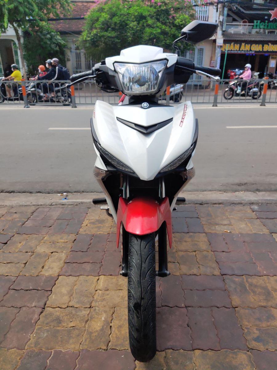 Yamaha Exciter 150cc 2015 xe màu trắng đỏ bstp 041.17 bán 23tr5
