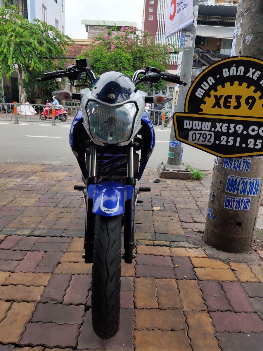 Yamaha Fz 150cc Fi 2015 xanh Gp nhập indo xe đẹp bstp 9 chủ bán 33tr8