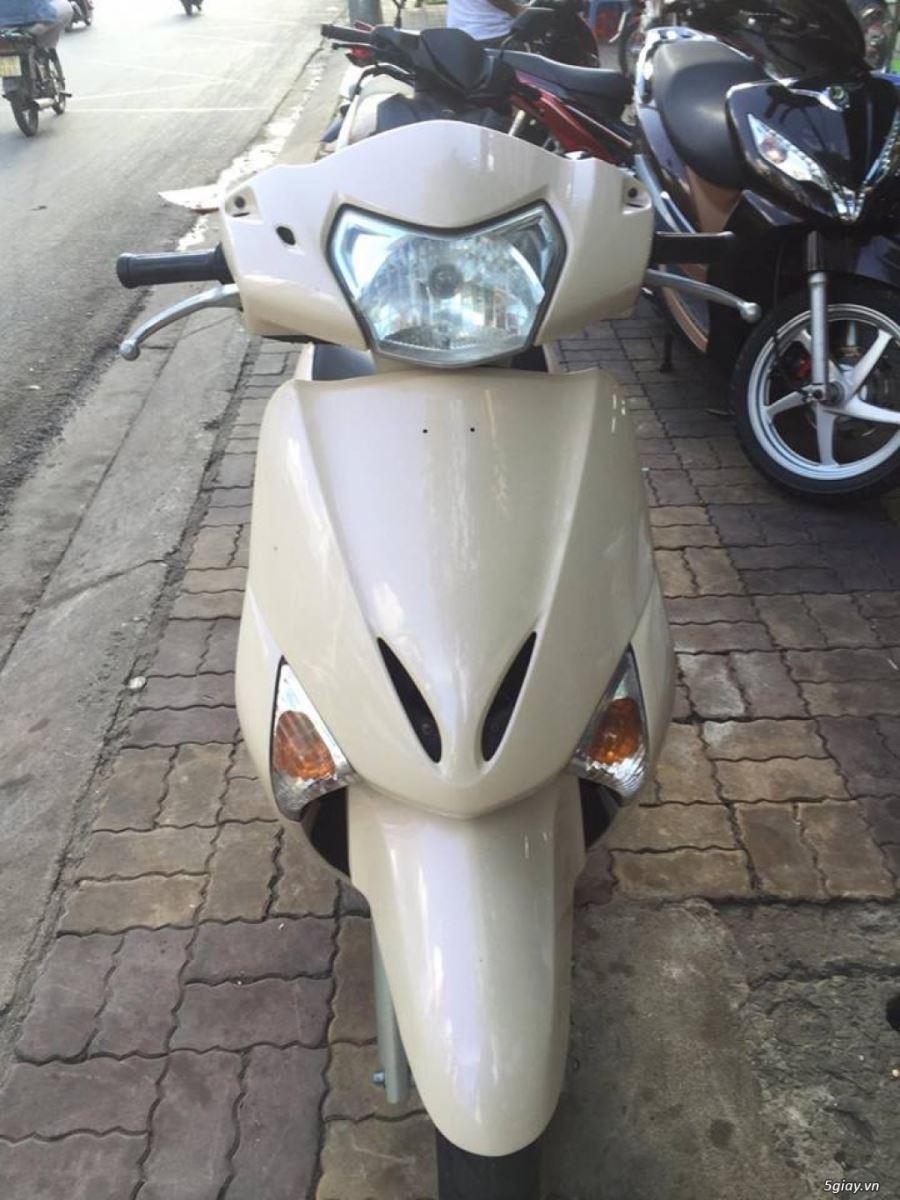 Honda Lead Fi 110cc 2009 màu hột gà xe đẹp bstp 5261