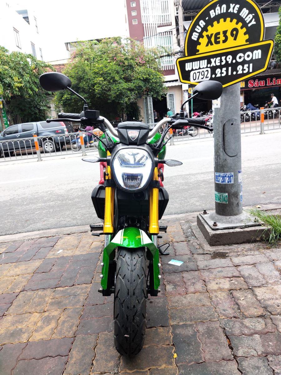 Mô tô con Ducati Mini Monster 110cc 2019 bstp bán 18tr