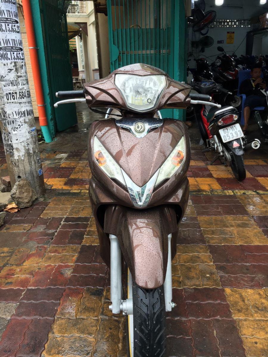 Sym Shark 125cc 2010 màu nâu đẹp xe bstp 261.34 bán 10tr8