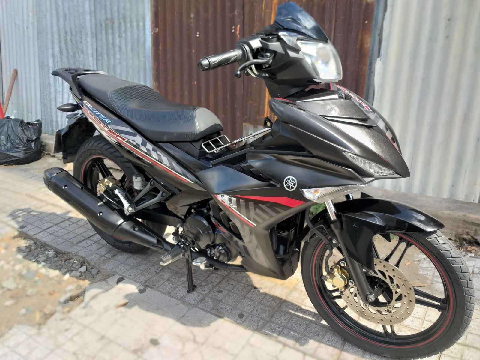 Yamaha Exciter 150cc 2018 đen nhám bstp bán 29tr8