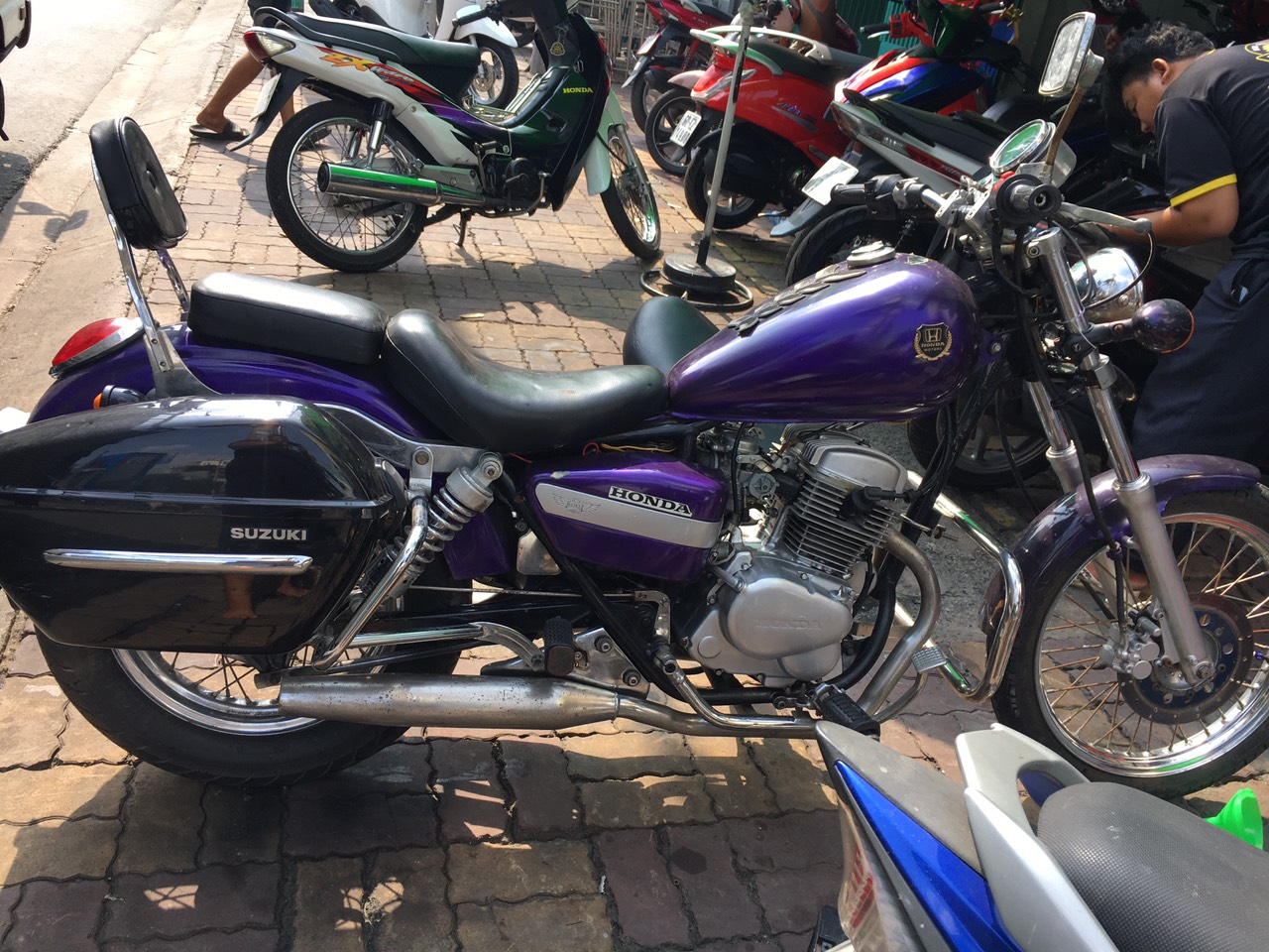 Honda CM 125cc 2005 mô tô 125cc đời 2005 bstp bán 30tr
