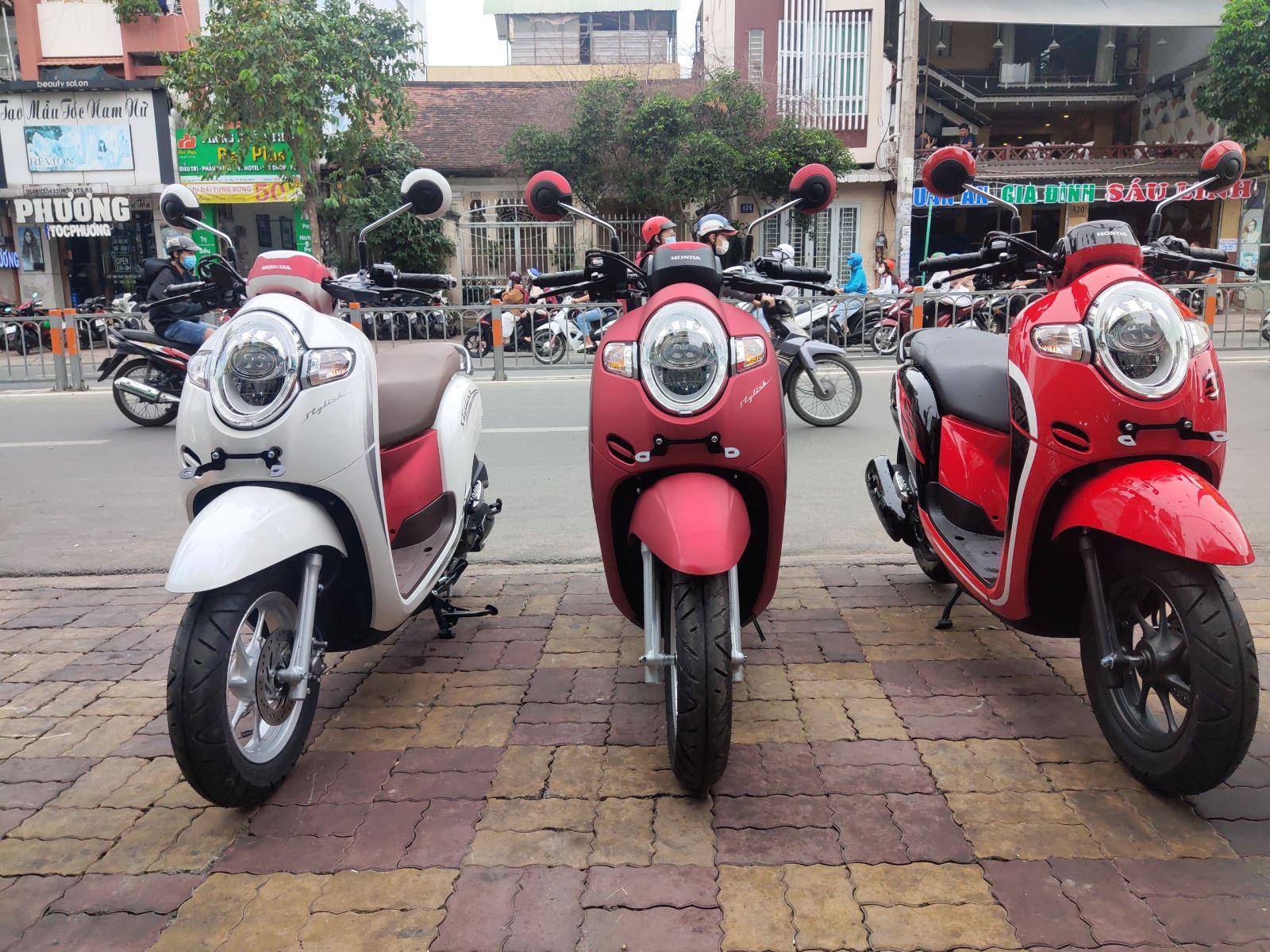Honda Scoopy 110cc xe tay ga mới phiên bản 2020 thể thao